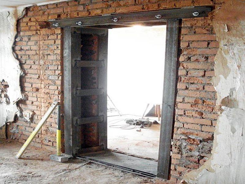 Перепланировка дверных проемов