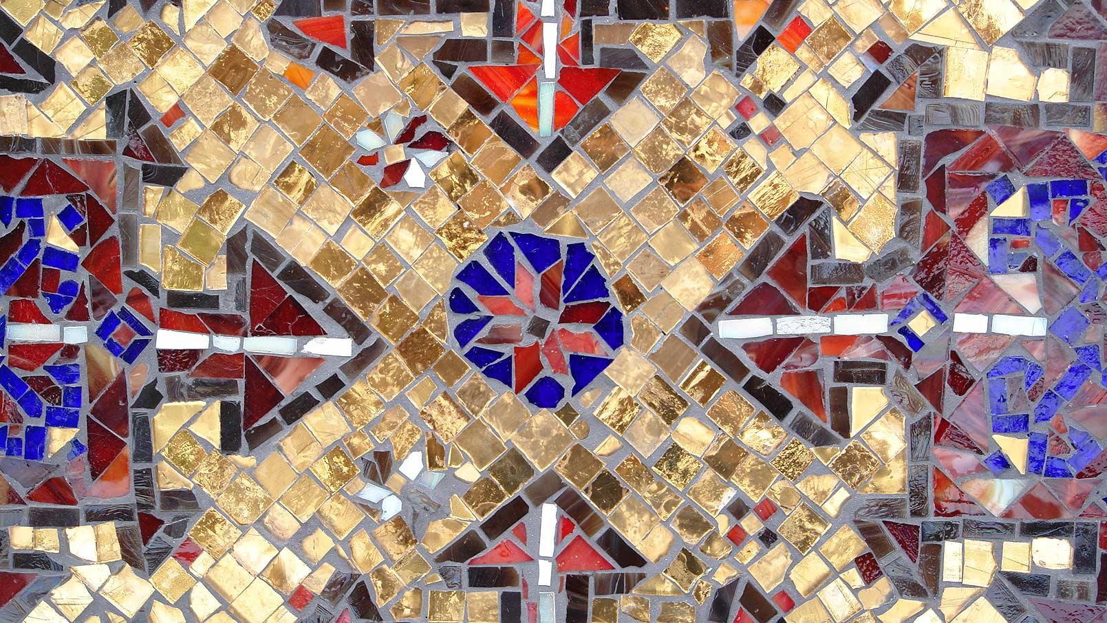 Плитка мозаично-ковровая