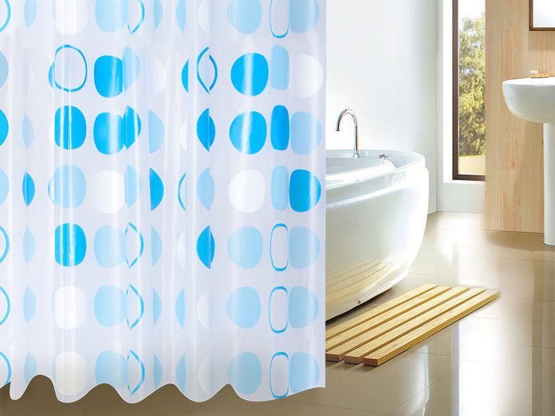 Шторка для ванной: практичная и эстетичная