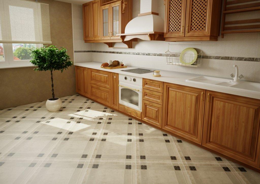 Советы по ремонту квартир от АСК ТРИАН: напольное покрытие кухни