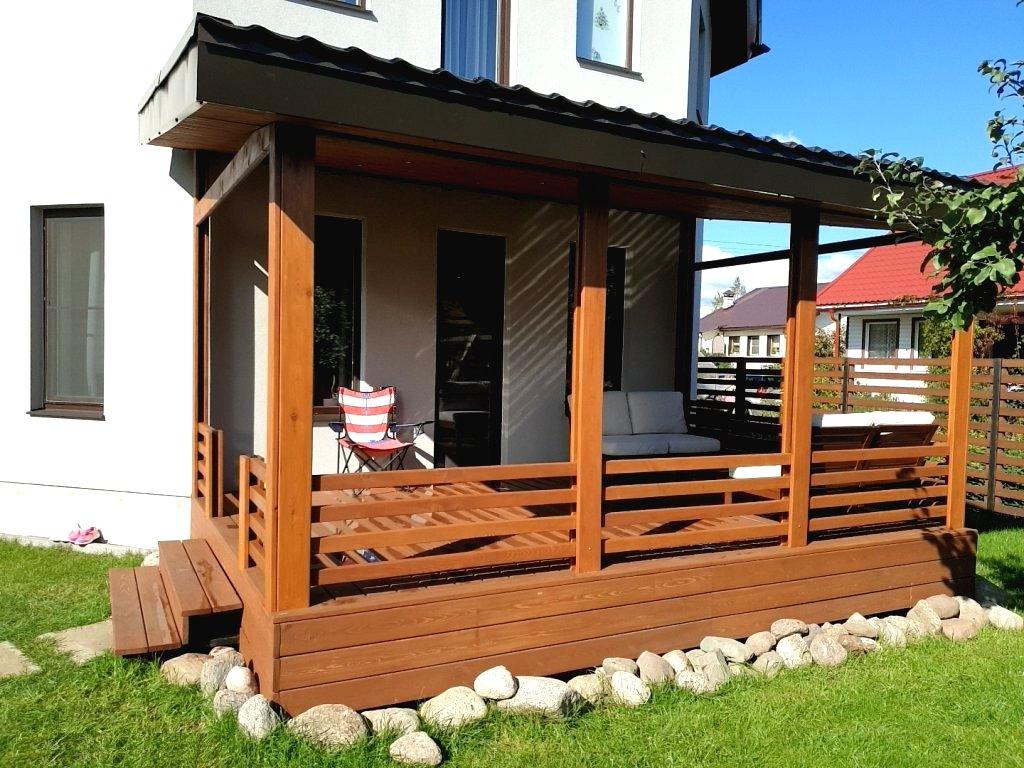 Как построить деревянную террасу за 7 простых шагов